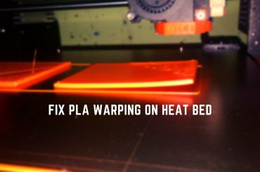 PLA warping on heat bed