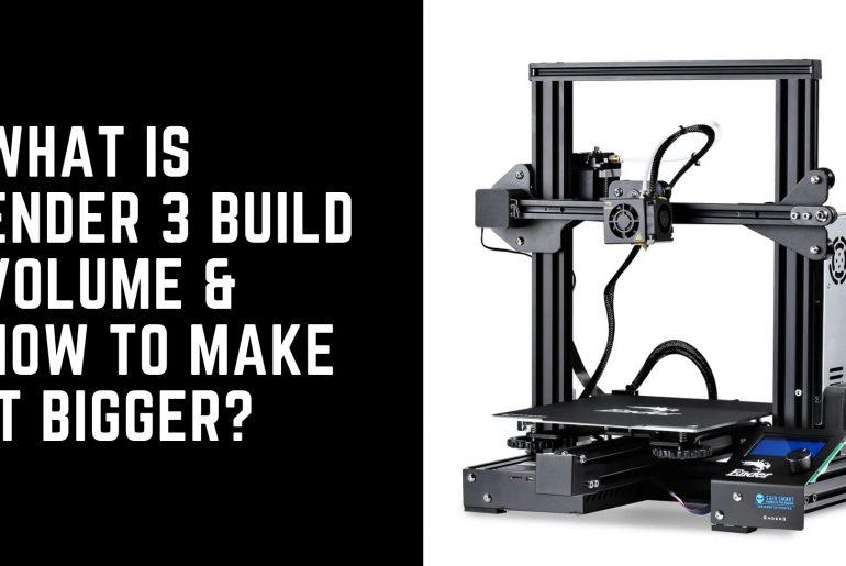 Ender 3 build volume
